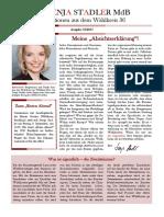 Newsletter Svenja Stadler 10 2017