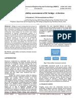 Seismic Vulnerability Assessment of RC Bridge –A Review