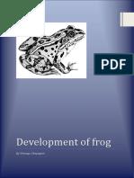 Development of Frog Umanga Chapagain Read Only