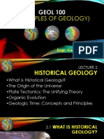 GEOL 100 - Lecture 2