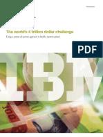 The World's 4 Trillion Dollar Challenge