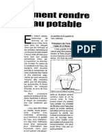 Comment Rendre l'Eau Potable