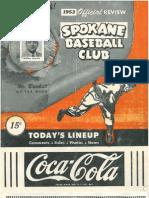 1953 Scorecard