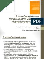 A Nova Carta de Atenas - Propostas Contemporaneas