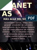 PLANETAS más allá del Sistema Solar