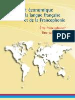 2012 Rapport Impact Economique LangueFRFrancophonie