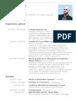 Cv Alejandro Senges-Español