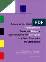 47_Relatório Do Estudo Em Seis Autarquias Moçambicanas