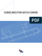 Guidelines for Hatch Covers E