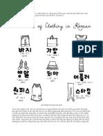 Bí Quyết Học Tiếng Hàn Hiệu Quả Qua Hình Ảnh