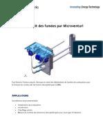 Mesure de Debit Des Fumees Par Microventuri - FR - Fuji Electric
