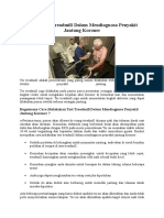 Fungsi Test Treadmill Dalam Mendiagnosa Penyakit Jantung Koroner