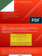 Transductor, Convertidor e Indicador-tarde
