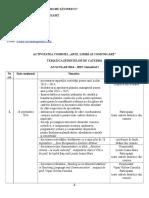 Plan de Activitati Al Comisiei Metodice Limba Arte Si Comunicare