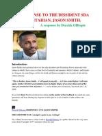Responses to SDA Anti-Trinitarian Jason Smith