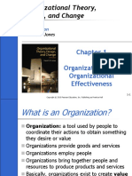 Ch01-Organizations and Organizational Effectiveness