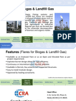 Flares for Biogas & Landfill Gas