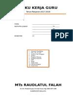 Cover Buku Kerja Guru