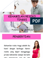 Kehamilan Resiko Tinggi
