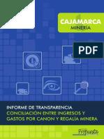 Cajamarca Informe Transparencia