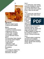 cereals pasta.docx