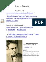 Leónidas Barletta - Elteatro Del Pueblo