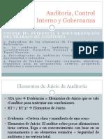 Unidad IV - Evidencia y Documentación Del Trabajo de Auditoria