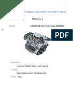 Caracteristica de Motores