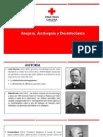 2 y 3.- Asepsia, Antisepsia, Desinfectante y Esterilización, Cuidador de Enfermos