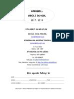 2017 - 2018 Marshall Student Handbook