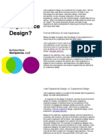 What is User Experience Design