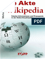 Brückner, Michael - Die Akte Wikipedia (2014, 128 S., Text)