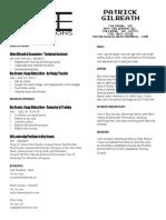 design resume patrick