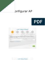 Configurar AP Ubiquiti