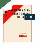 Lora - La Formación de La Clase Obrera