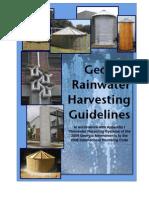 Georgia Rainwater Harvesting Manual