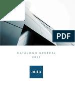 201709 Auta Catálogo 2017 Index