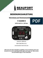V-GUARD II Bedienungsanleitung V2.1