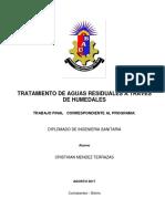 Trabajo Final - Tratamiento de Aguas Residuales a Través de Humedales