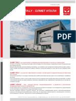 PRECASTING EQUIPMENT - Olmet Italy Technical Catalogue (2016 ed.)