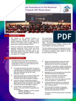 Emenda de Kigali Ao Protocolo de Montreal