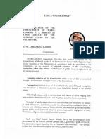 Impeachment Sereno Reduced