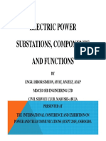 Electric Power Substations Components and Functions (Ibibor S