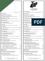 Ladybird menu