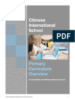 Primary Curriculum Overview