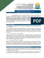 Edital Mestrado UFT 2015
