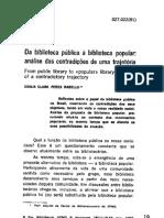 Da_Biblioteca Pública a Popular