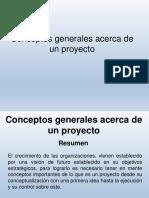 conceptos generales de un proyecto