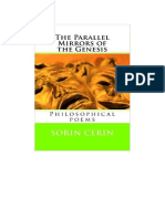 The Parallel Mirrors of The Genesis - Philosophical poems by Sorin Cerin