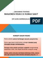 1.PEMAHAMAN Manj Risiko Klinis
